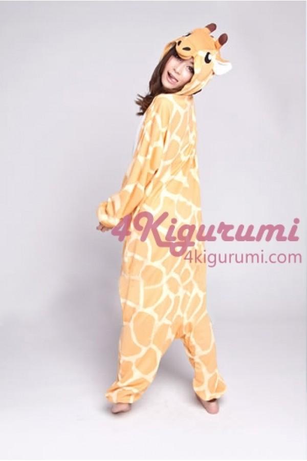 c79eafc1d9 Giraffe Kigurumi Onesie Light Material - 4kigurumi.com