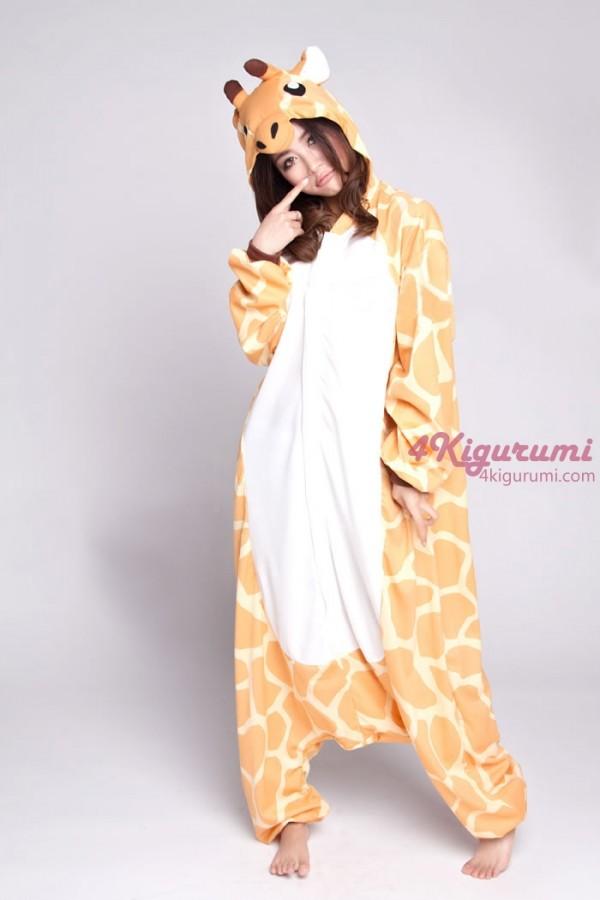 3e02b18eb3 Giraffe Kigurumi Onesie Light Material - 4kigurumi.com