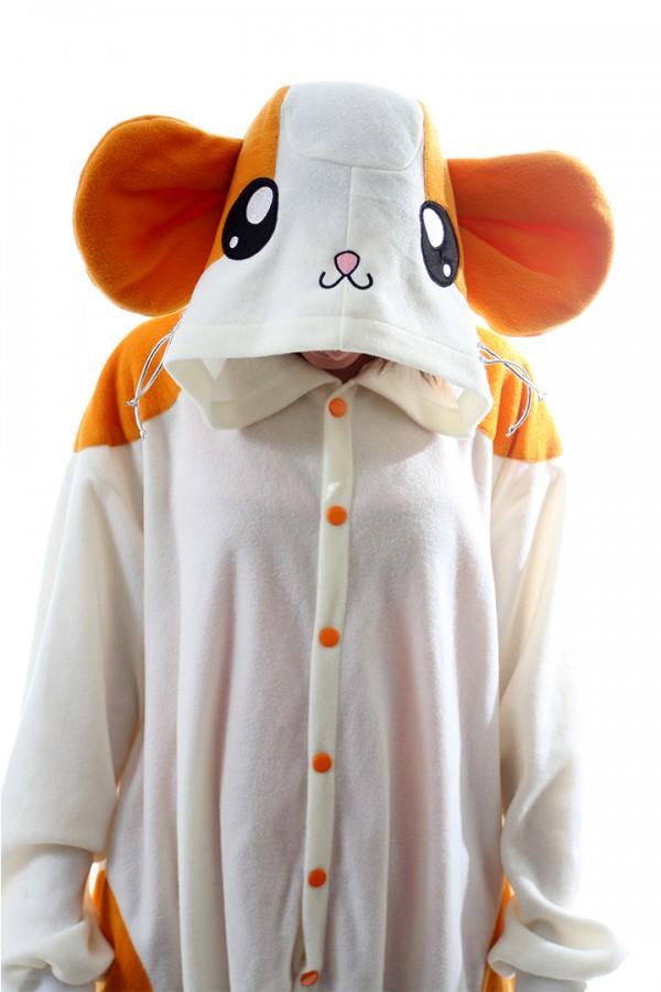 2df913976e15 White Hamster Onesie Kigurumi Pajamas - 4kigurumi.com
