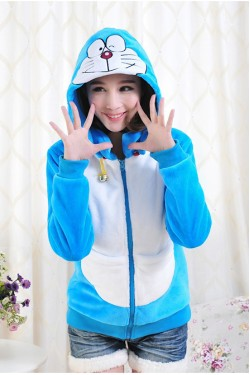 Doraemon Kigurumi Beautiful Hoodie