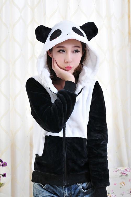 Panda Kigurumi Beautiful Hoodie