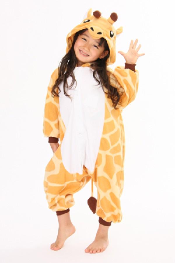 Onesieshow Offer Best Quality Giraffe Onesie Kigurumi Pajamas For Kids. We Ship Kigurumi Animal Onesie All The World.