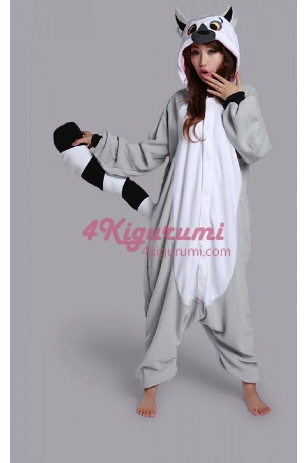 e32cc810da31 Lemur Onesie Animal Costume Kigurumi Pajamas - 4kigurumi.com