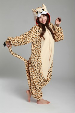 Leopard Onesie Kigurumi Pajamas