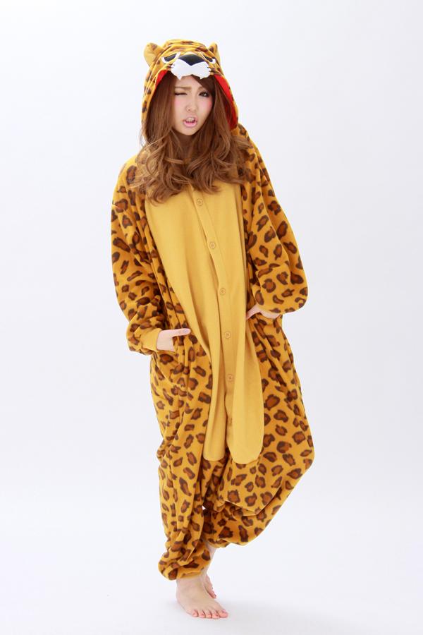 796c7c91b633 Leopard Onesie Animal Costumes Kigurumi Pajamas - 4kigurumi.com