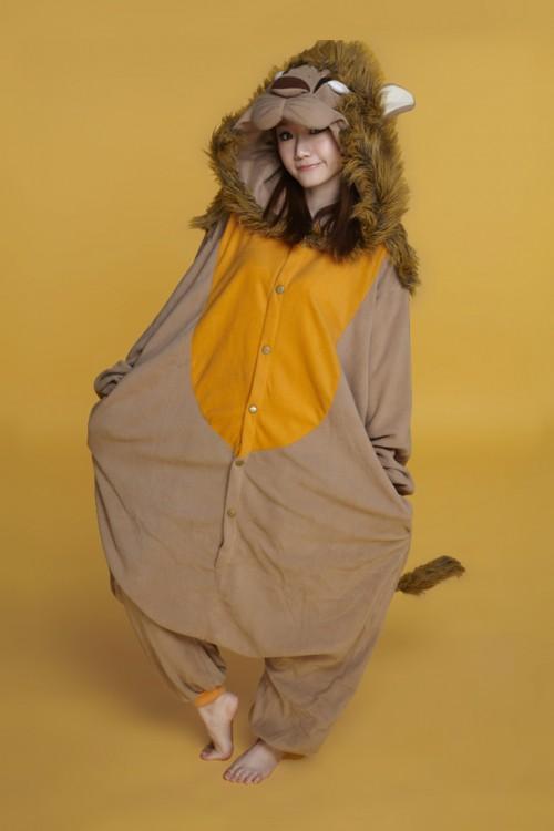 Lion Onesie Kigurumi Pajamas
