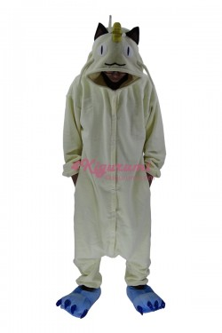 Pokemon Meowth Onesie Kigurumi Pajamas