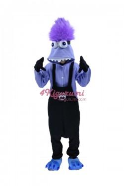 Purple Evil Minions M2 Kigurumi Onesies