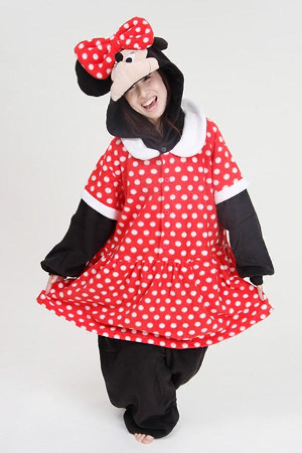 Disney Minnie Mouse Onesie Kigurumi Pajamas Disney Minnie Mouse Onesie Kigurumi Pajamas ...  sc 1 st  4kigurumi & Disney Minnie Mouse Onesie Kigurumi Pajamas - 4kigurumi.com