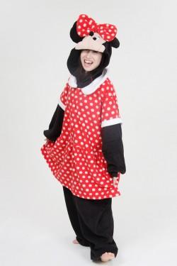 Disney Minnie Mouse Onesie Kigurumi Pajamas