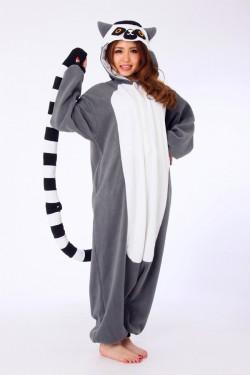 Lemur Kigurumi Animal Onesie