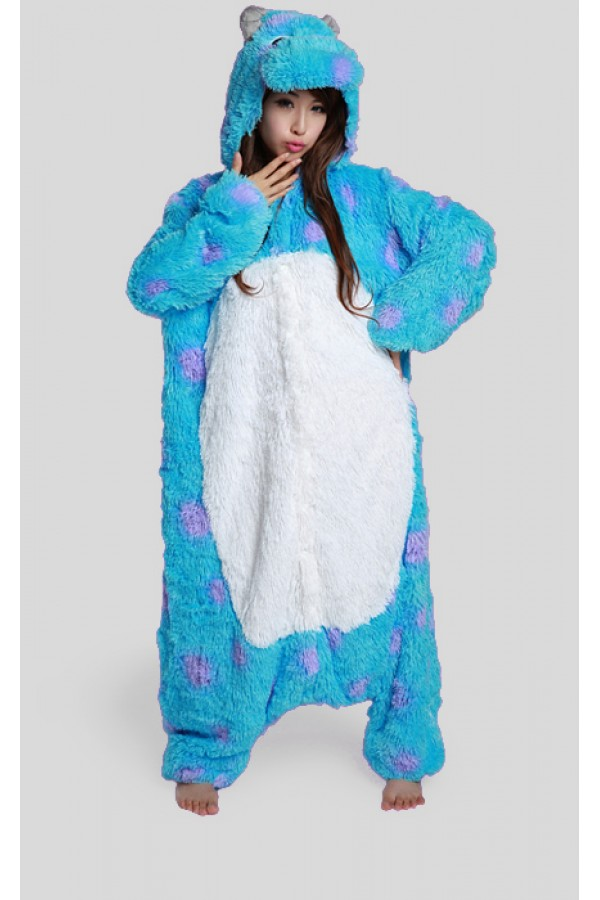 Monsters Inc Sulley Kigurumi Onesie 4kigurumi Com