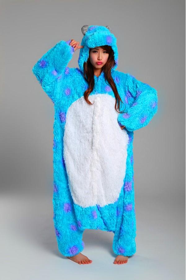 ad62b852568b Monsters Inc. Sulley Kigurumi Onesie - 4kigurumi.com
