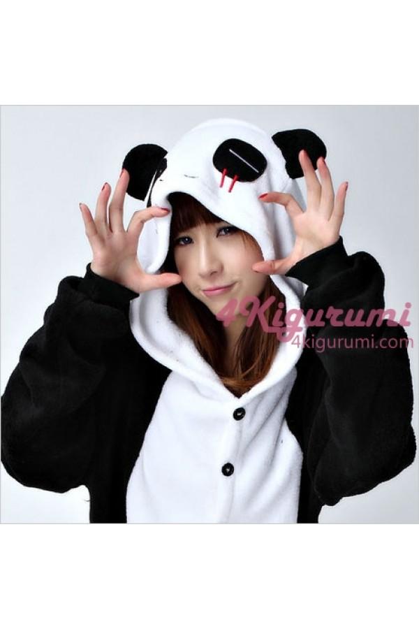 Panda Onesie Animal Costumes Kigurumi Pajamas - 4kigurumi.com 86a21396f