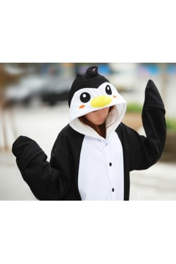 Black Penguin Onesie Animal Costumes