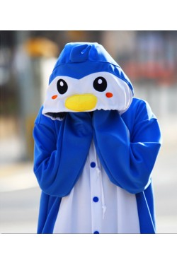 Blue Penguin Onesie Animal Costumes