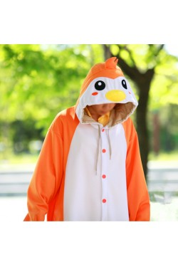 Orange Penguin Onesie Animal Costumes
