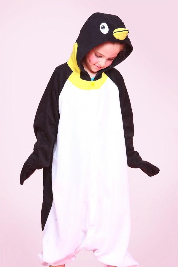 Kids Penguin Onesie Kigurumi Pajamas - 4kigurumi.com