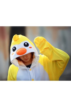 Yellow Penguin Onesie Animal Costumes