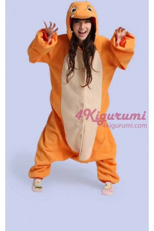 Pokemon Charmander Kigurumi Onesie 4kigurumi Com