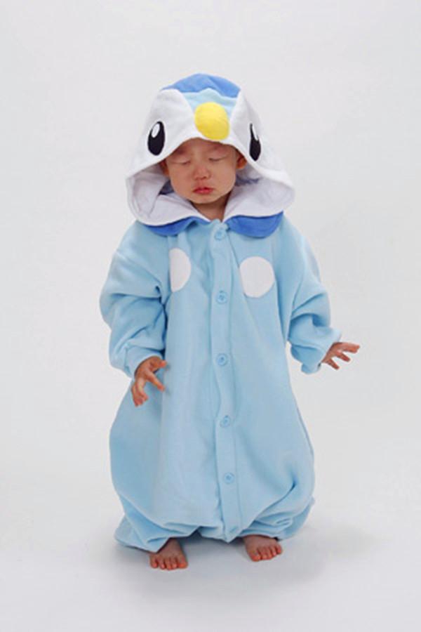 Kids Pokemon Piplup Onesie Kigurumi