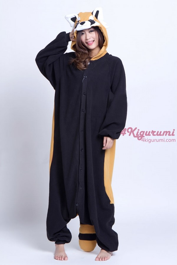 Image of: Kawaii 25 Red Panda Raccoon Kigurumi Onesie 4kigurumi Animal Onesies Red Panda Raccoon Kigurumi Onesie 4kigurumicom