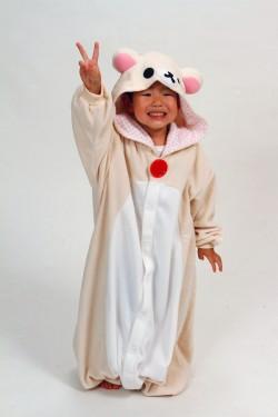 Kids Korilakkma Bear Onesie Kigurumi Pajamas