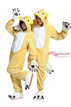 Rilakkuma Bear Onesie Animal Costumes Kigurumi Pajamas