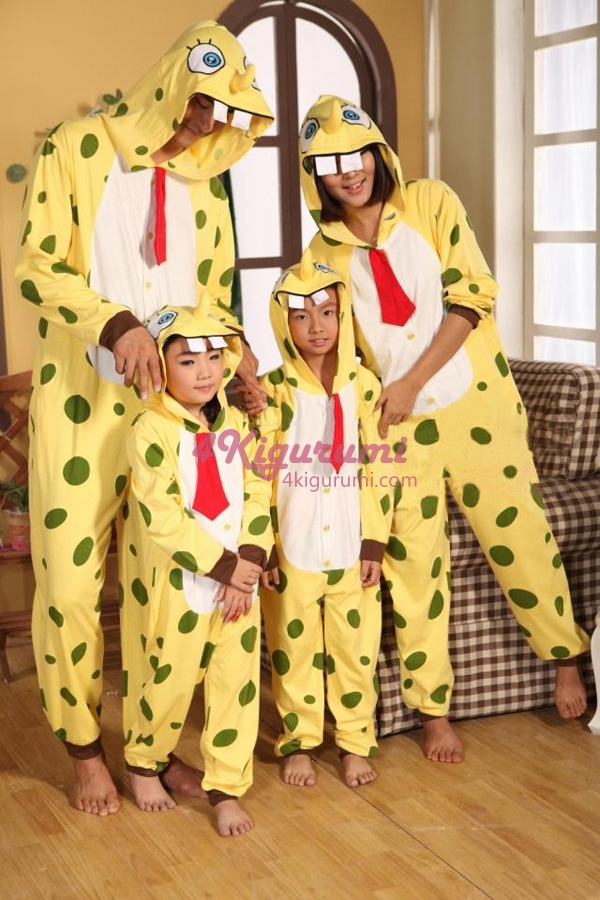 c418ea232394 SpongeBob SquarePants Onesie Kigurumi Pajamas - 4kigurumi.com