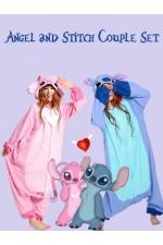 Angel & Stitch Couple Set
