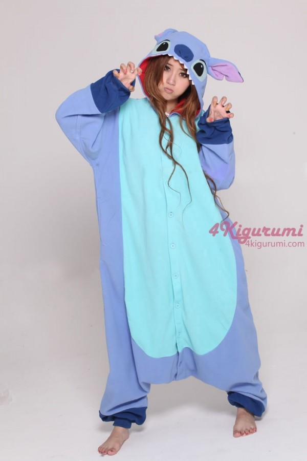stitch kigurumi onesie. Black Bedroom Furniture Sets. Home Design Ideas