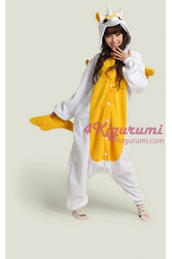 Golden Unicorn Onesie Kigurumi Pajamas