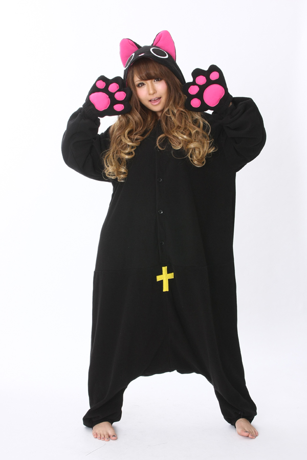 a1908b0f7a5a Nyanpire The Vampire Cat Onesie Kigurumi Pajamas - 4kigurumi.com
