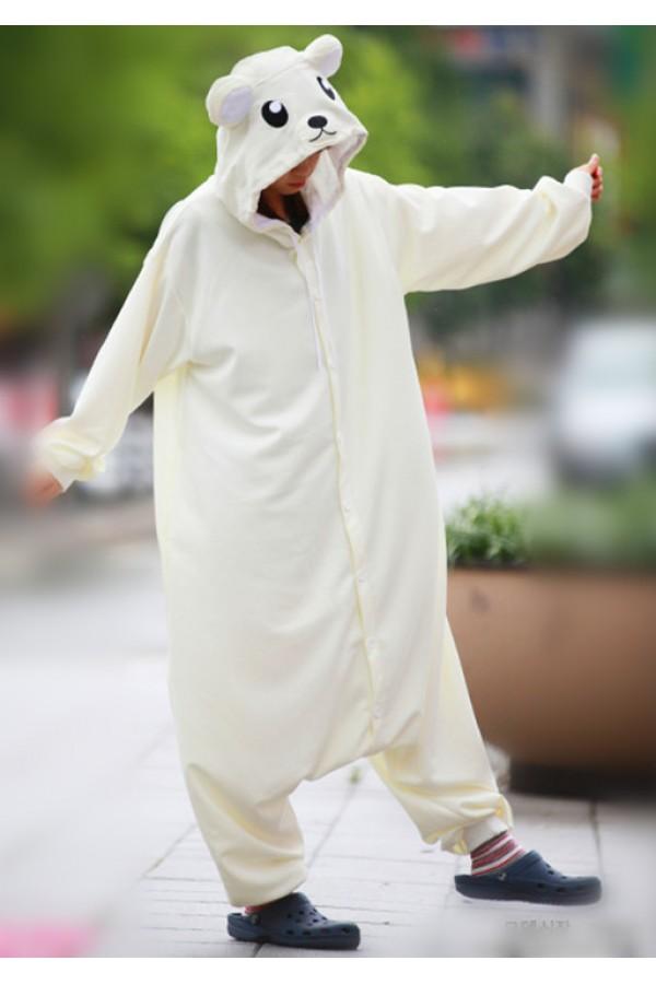 5d38432ecaa7 White Bear Onesie Animal Costumes White Bear Onesie Animal Costumes ...