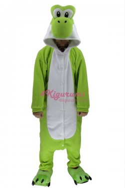 Yoshi Kigurumi Pajama Mario Character Costumes