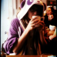 Purple Panda Onesie