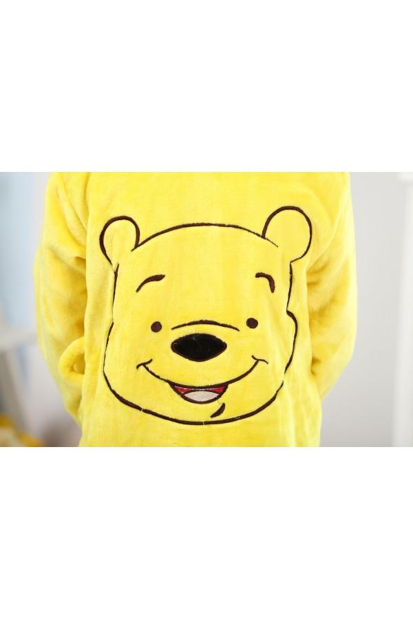 9458fca16d Winnie The Pooh Kids Bathrobe Disney Robes - 4kigurumi.com