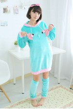 Elephant Kigurumi Cute Night Robe