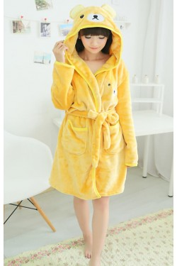Rilakkuma Bear Kigurumi Bathrobe Animal Robes