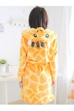 Giraffe Kigurumi Bathrobe Animal Robes
