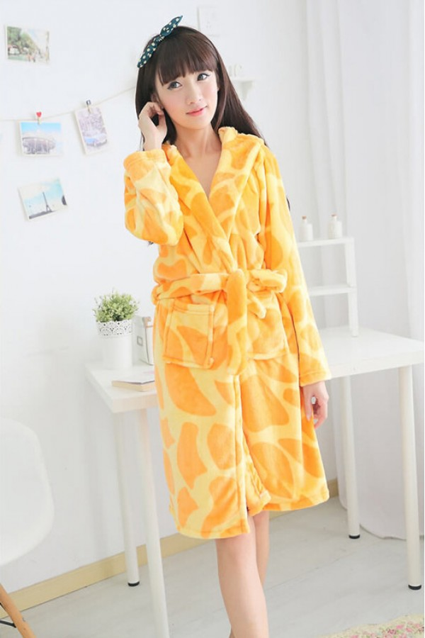 Animal hooded bathrobes for kids 33d0a7b1b