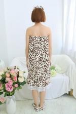 Leopard Love Bathrobe Women Robes