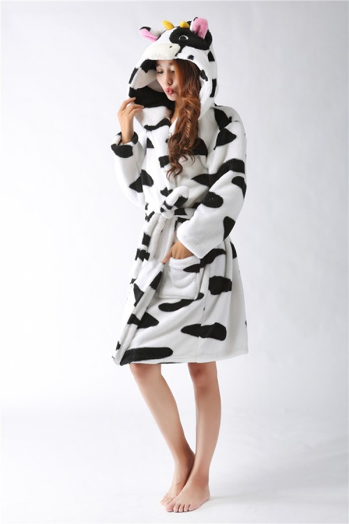 Cow Kigurumi Bathrobe 2015 Christmas Robes
