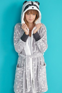 Raccoon Kigurumi Bathrobe 2016 Animal Robes