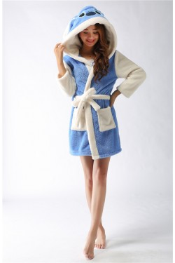Stitch Kigurumi Bathrobe 2015 Christmas Robes
