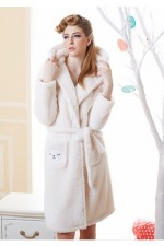 White Sheep Kigurumi Bathrobe Animal Robes