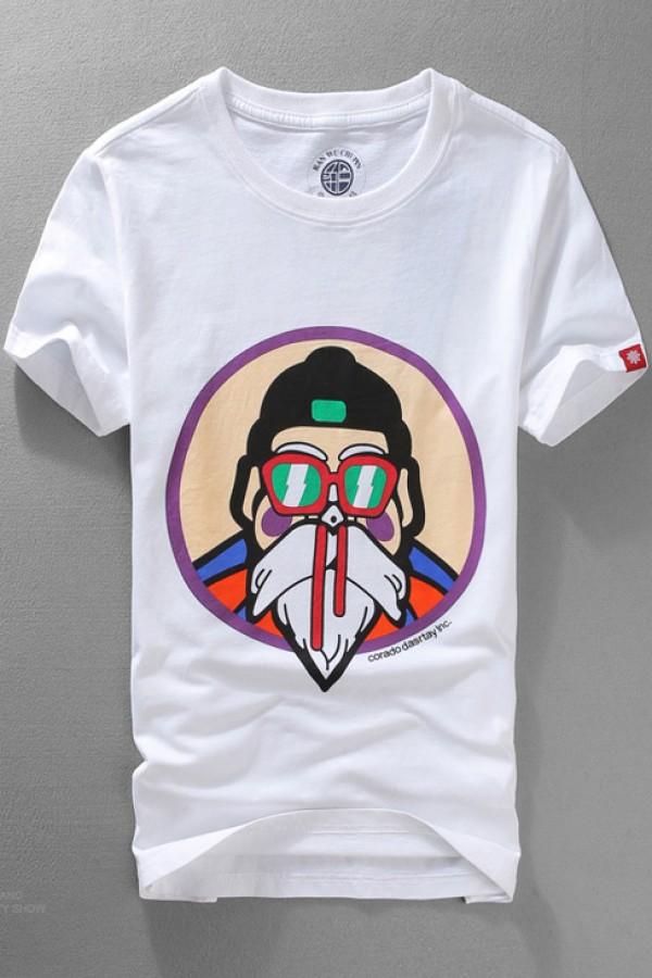 1e5665891 Dragon Ball Master Roshi nosebleed T-shirt - 4kigurumi.com