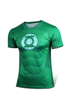 Green Lantern Style Fashion T-Shirt