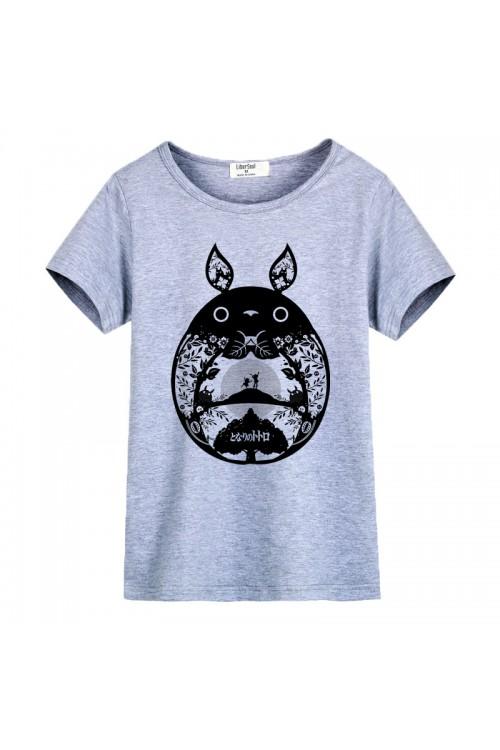 TOTORO Style Girl Cartoon T-Shirt - 4kigurumi.com