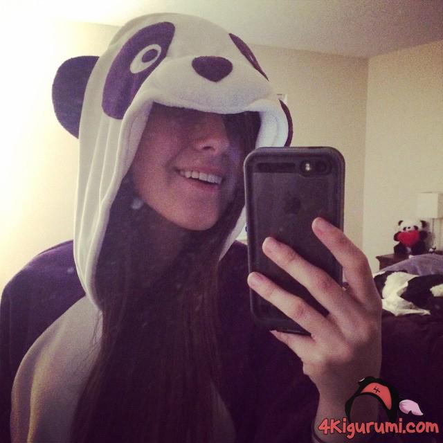 Purple Panda Kigurumi Reviewed by Ashley Violet
